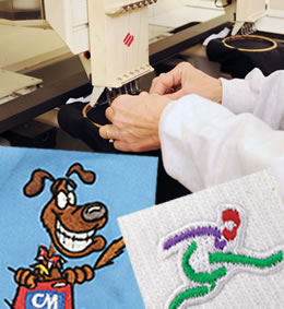 Grand Rapids embroidery services of quality clothing and promotional items