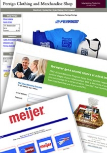 MTI provide online ordering for client's promotional programs for convenience and tracking of promo items